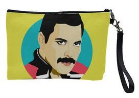 Unique makeup bags with Freddie Mercury - a great idea for Mother's day gift