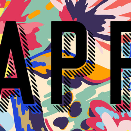 Happy - modern art prints on Artwow