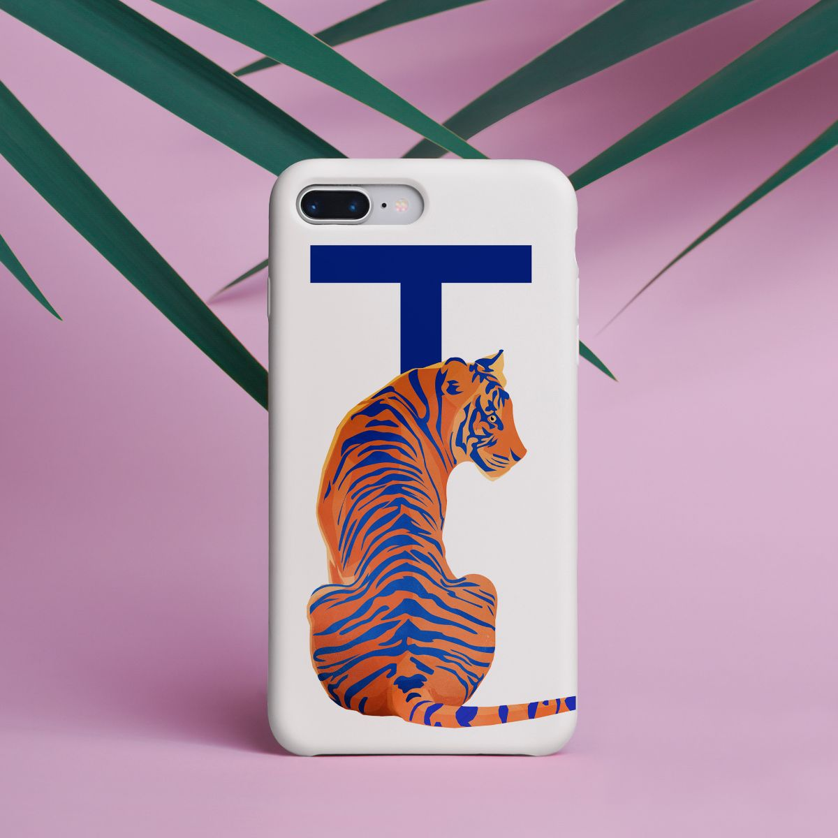 Goed Blauw: Alphabet T for Tiger - phone case