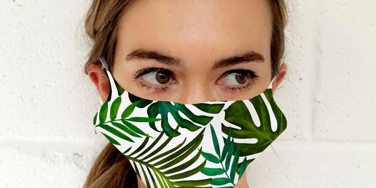 Tropical - fashion face masks