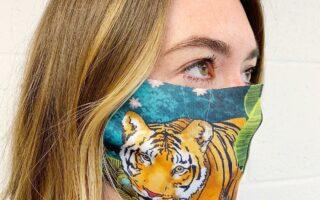Jungle Tiger - washable face mask