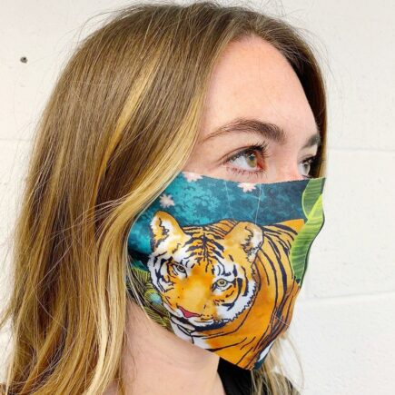 Jungle Tiger - washable face mask