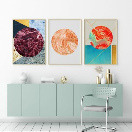 abstract prints on ArtWOW