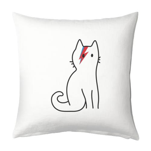 Cat Bowie - quirky cushions by Arif Rahman for ART WOW