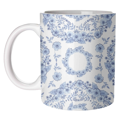 Blue rhapsody - funny coffee mugs on ARTwow
