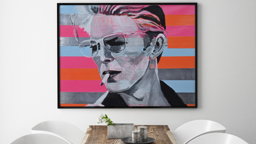 David Bowie art works on ARTWOW