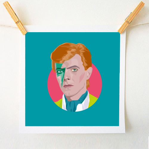 David Bowie art printы on ArtWow