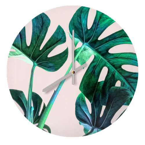 WILD LEAVES -  unusual clocks from UK designed by Art Wow artist Uma Prabhakar Gokhale