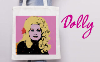 DOlly Parton gifts on Art Wow