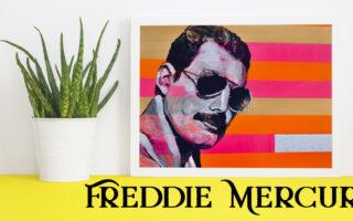 Freddie Mercury art works on Artwow.co