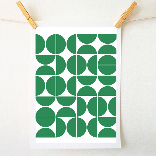 MID CENTURY MODERN GEOMETRIC - cool prints by ART WOW designer Theoldartstudio
