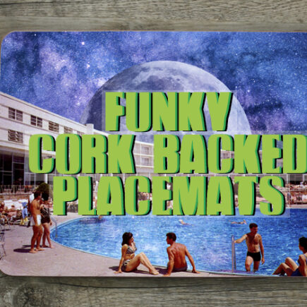 Funky Cork-Backed Placemats