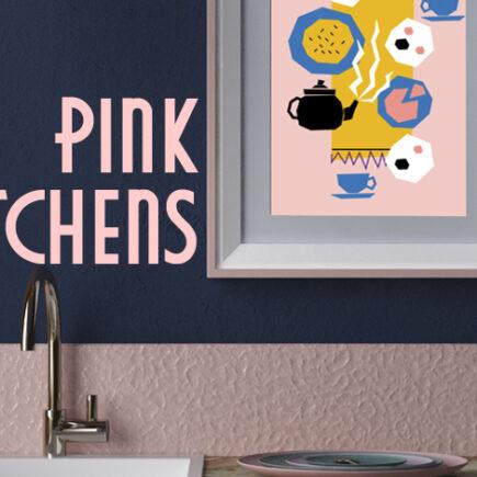 Pink Kitchen Ideas