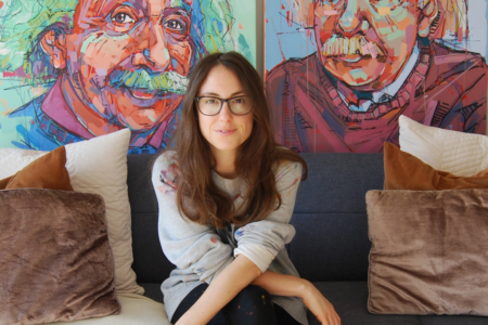 Laura Selevos on Art Wow - interview