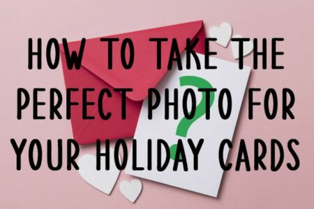 Pick the best photos for your Christmas cards